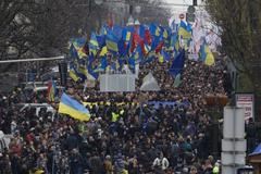 Ukraine: Tens of Thousands March Through Kiev (+Photos)